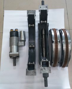Disassembly of Turbine Shaft Grinding Machine