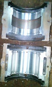 Crankshaft White Metal Babbitt Bearing