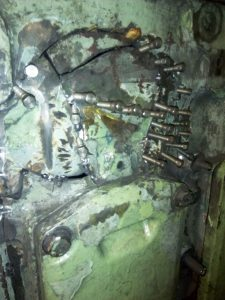 Metal Stitching of Engine Block in Process