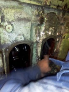 Repair of Engine Block by Metal Locking Process