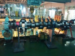 Repair of Crankshaft is in Process