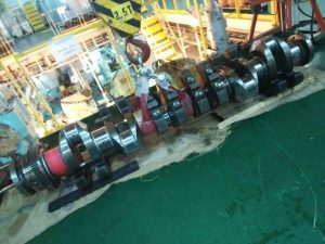 Removal of Crankshaft from Engine Block