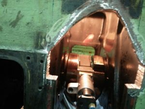 Repair of Crankshaft and Engine Block After Major Accident