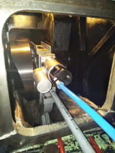 Crankshaft Repair Services While Vessel is Sailing