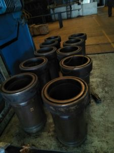 Cylinder Liners of Wartsila Engine Exported to Power Plant