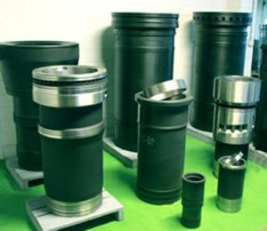 Cylinder Liners & Sleeves of MAN Diesel Engine
