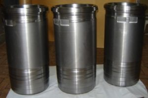 Cylinder Liners Manufactured for Marine Engine